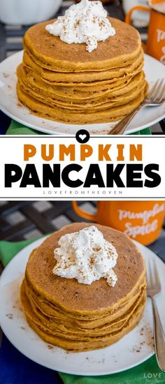 The Best Easy Pumpkin Pancakes Recipe | Love From The Oven