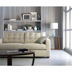 Linden Street Slipcover Twill In Loden Green Sofa Search