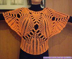 Me encanta esta blusa…. quizá sea mi próximo trabajo….   Mi Rincon de Crochet