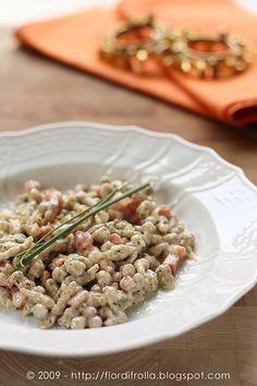 Spatzlen di grano saraceno (Schwarzplentene Spatzlen)