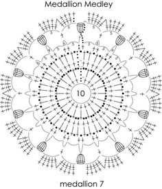 мотивам Medallion Medley Ники Эпштейн: 532 изображения найдено в Яндекс.Картинках