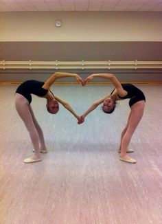 ending/beginning pose idea for partner dance with sanaia