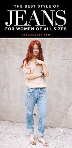 Click through to read these GREAT tips on how to pick the best style of jeans for your body type. // Whether it be skinny jeans, flares, or boyfriend jeans, you should keep these clever guidelines in mind!