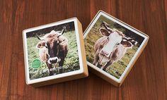 großformatiges und wetterfestes Memospiel Kuh für draussen