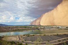 Dust storm, Phoenix, Arizona 2013 Chatting about dust storms today on #groundchat's monthly roundtable discussion about Soil in the News.   Join us at 2 pm EST