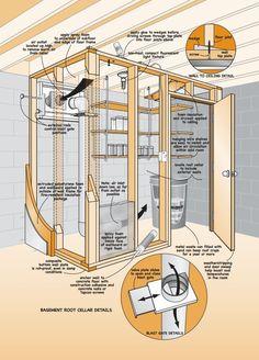 Root Cellar in Basement-on my wish list...