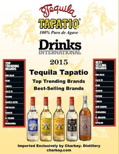 Tequila Tapatio is in the top 10!