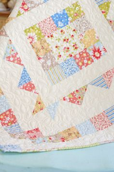 from Fig Tree Quilts, using California Girl fabric line