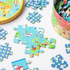 This Puzzle World Map Is A Fun Childrens Birthday Gift Idea That Educational Too