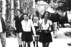 Fairuza Balk, Neve Campbell, Robin Tunney and Rachel True // The Craft