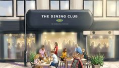 Swedish retailer IKEA is opening a fully immersive dining experience in Shoreditch – a 'Do-it-Yourself Restaurant' where the diners run the diner, becoming the star chefs in their very own restaurant. Opening A Restaurant, Pop Up Restaurant, Ikea Dining Room, Dining Club, Ikea New, Supper Club, Party Venues, London Restaurants, Experiential