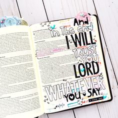 bible journaling entry by Bailey Jean Robert | Worth the Wait | Whatever You Say