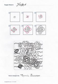 zentangle tutorial step by step - Google Search