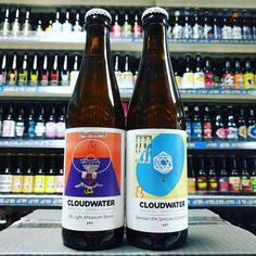 New Beers. US Light Ahtanum Bravo & Session IPA with Simcoe and Centennial from @cloudwaterbrew in stock now
