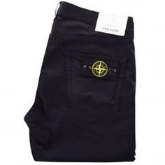 e2b384df Stone Island Black Slim Fit Chino Trousers. Available now at  www.brother2brother.co.uk