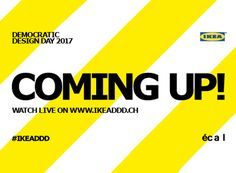 in collaboration with IKEA, designboom invites readersto watch the democratic design day 2017 program presentations through live streaming on friday, september22nd, 2017.