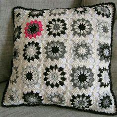 Granny blanco/negro rosa