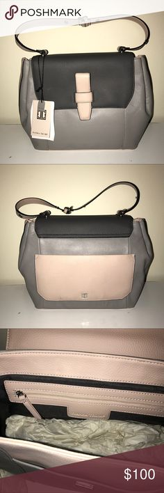 Ivanka Trump Gramercy Stone Leather Bag Brand New Ivanka Trump Bags Shoulder Bags