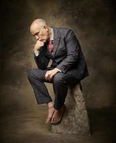 WithTechnobohemian is John Malkovich the rarest of beasts: a celebrity designer in it for love just as much as money? - John Malkovich in some of his Technobohemian designs.