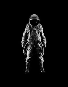 Astronaut pinned with Bazaart