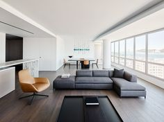 GT Private Residence is a minimal apartment located in San Francisco, California, designed by Garcia Tamjidi Architecture Design Luxury Home Decor, Cheap Home Decor, Luxury Homes, Living Room Interior, Living Room Decor, Decor Room, Wall Decor, Minimal Apartment, Interior Minimalista