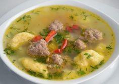 шеф-повар Одноклассники: Суп с фрикадельками и клёцками