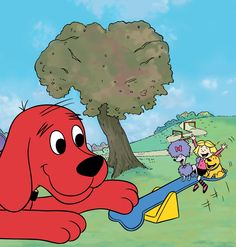Clifford knows how important it is to BE A GOOD FRIEND!