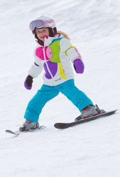 """Teaching the kids to ski  Pamporovo is possibly """"the best value place in the world to learn""""  see more http://www.chaletsatpamporovovillage.com/"""