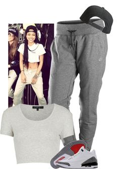 """""""I think I have a girl crush on Kae."""" by dash-of-thug ❤ liked on Polyvore"""