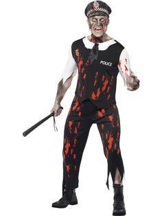 £21.99 Zombie Policeman Costume