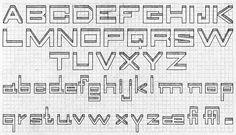Design: Grid Lettering   Just Something I Made