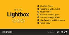NACHO Lightbox - Flat responsive lightbox