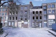 Wellclose Square - East Side - 1969 East End London, South London, London Life, London Street, London History, Local History, Vintage London, Old London, Wilton Music Hall