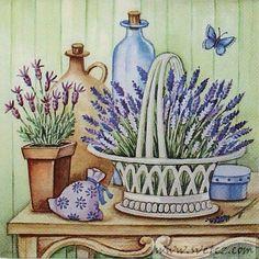 b Decoupage Vintage, Vintage Diy, Napkin Decoupage, Decoupage Paper, Elegant Flowers, Big Flowers, Little Gardens, Printed Napkins, Country Paintings