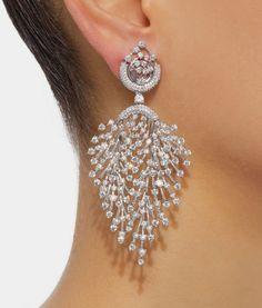 garo istepanyan Ear Jewelry, Diamond Jewelry, Diamond Earrings, Silver Jewelry, Jewelry Accessories, Jewelry Design, Women Jewelry, Fashion Jewelry, Bridal Earrings