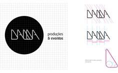 Agência Dama Corporate Identity by Adilson Porto Jr., via Behance