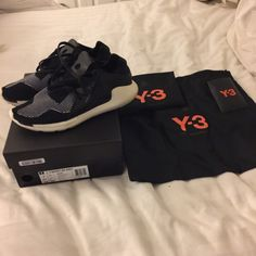 Y3 flynit sneakers Black and white flynit y-3 Y-3 Shoes Sneakers