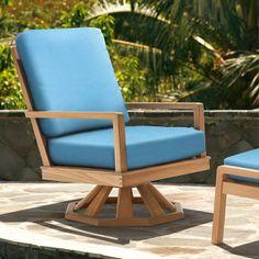 Barlow Tyrie Avon Swivel Rocker Lounge Chair