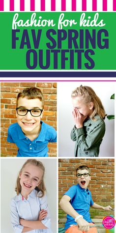 My kids are loving these fun spring outfits from Kohl's. And I'm always thrilled when I can dress my (older) kids in Carter's while still saving big money. Click over to see our favorites for this spring. PlayAllDay ad