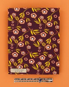 FLOWERS AND DOTS printed organic cotton single by Ottobredesign