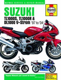 Haynes M4083 Repair Manual for 1997-04 Suzuki TL1000S, TL1000R and DL1000 V-Storm models
