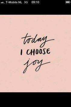 Maak de keuze elke dag weer...