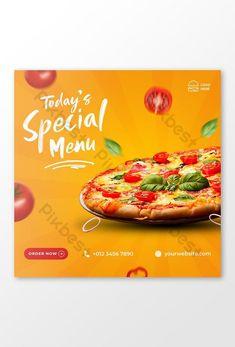 Alt Pizza, Pizza Menu, Best Grilled Chicken Marinade, Chicken Marinades, Restaurant Promotions, Fast Food Menu, Presentation Video, Pizza Recipes, Banner