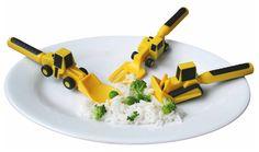 Topliste - Constructive Eating-Kinderbesteck, Man darf doch mit Essen spielen!