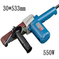 550.00$  Buy now - http://ali0n5.shopchina.info/go.php?t=32726737628 - 8pcs/lot  Variable Speed 30*533mm Belt Sander 550w High Power Woodworking Belt Sander 220-240v Sandpaper Grinder  #SHOPPING