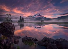 Tranquility by Marc Adamus, Sparks Lake, Oregon