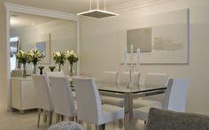 Salas de jantar brancas e off whites – veja modelos lindos e dicas de como decorar! - Decor Salteado - Blog de Decoração e Arquitetura