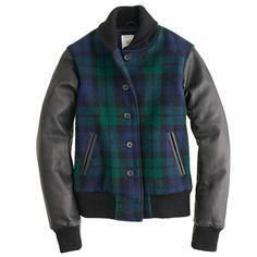 Golden Bear Sportswear® for J.Crew Black Watch varsity jacket