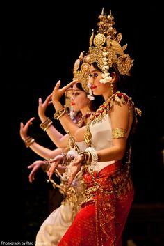 Aspara Dancers in Phnom Penh, Cambodia