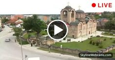 Lovely view of the main church of the city, Diocese of Valjevo